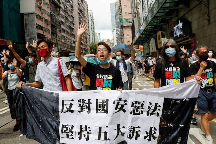 Seven Hong Kong Pro-Democracy Protest Leaders Jailed By China