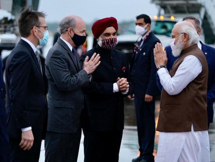PM Modi Arrives In Washington, Bilateral And Business Meets Scheduled