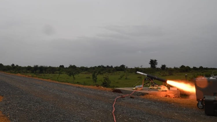 Test-Fire Successful For India's Homegrown Anti-Tank Missile