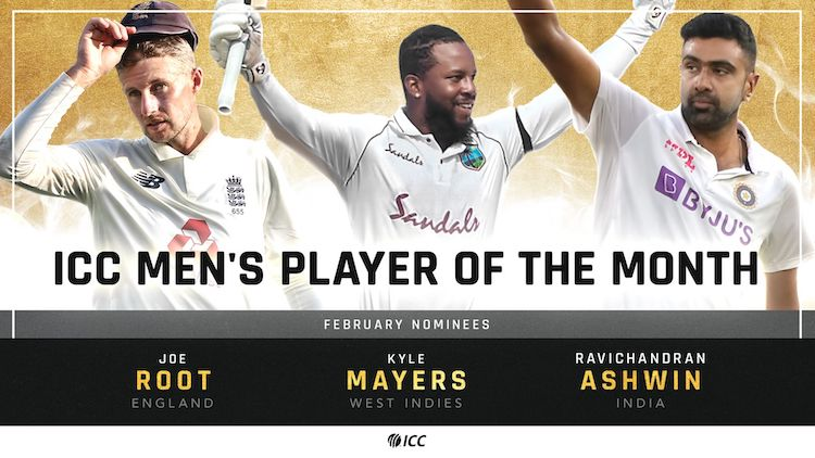 ICC Player of the Month Nominations For February Announced