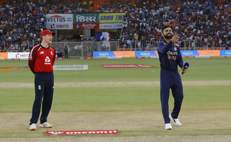 India Opt To Field In Second T20I Against England