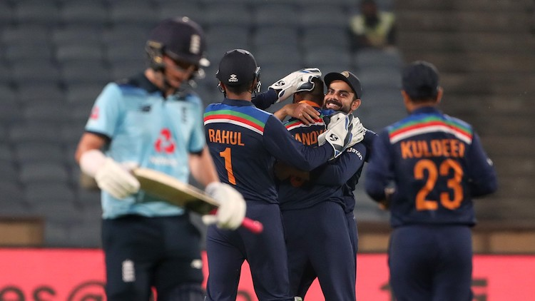 India Beat England By 66 Runs In First ODI