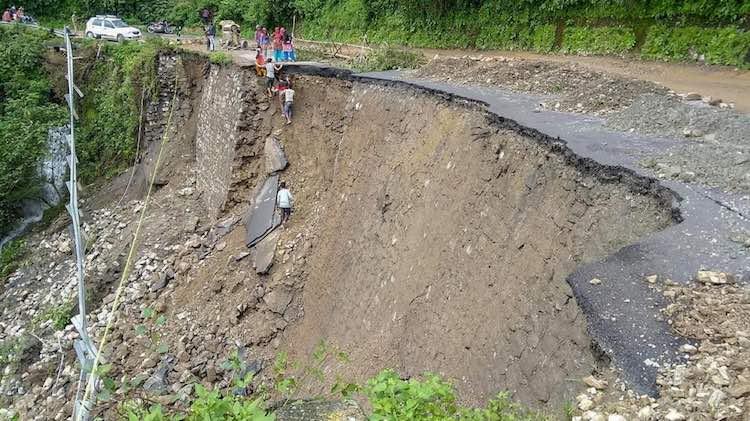 Landslides And Heavy Rains Leave 150 Stranded In Uttarakhand