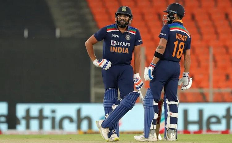 Kohli, Rohit Advance In ICC T20I Player Rankings