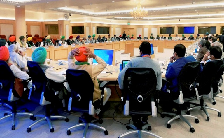4th Round Of Talks Between Centre, Farmers Remain Inconclusive, Next Meet On Dec 5