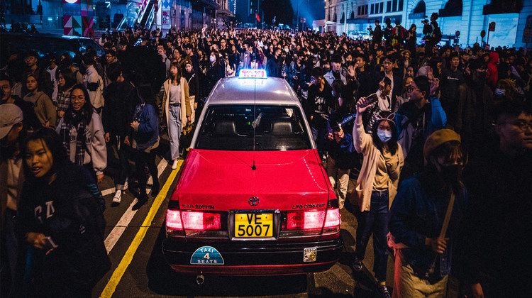 "UN Rights Experts Calls Arrests Under Hong Kong Security Law ""Serious Concern"""