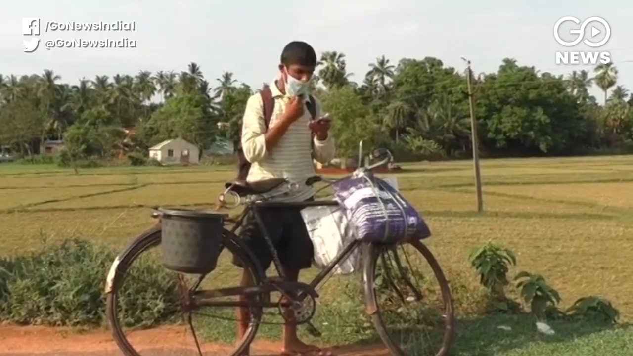 Migrant Worker Cycles 1700 Km From Maharashtra To