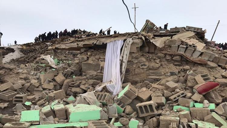 12 Dead In Earthquake On Turkey-Iran Border