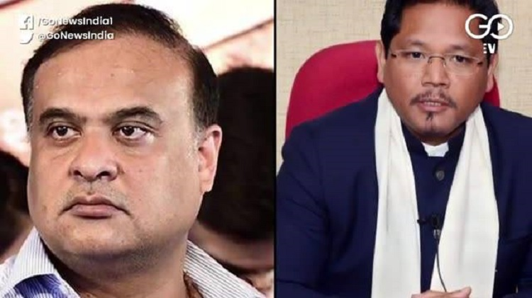 BJP Sends Conrad Sangma, Himanta Biswa Sarma To Ma