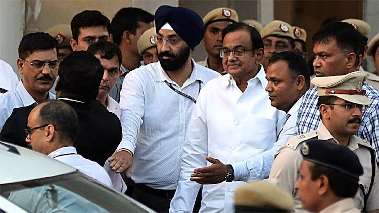 Court Extends Chidambaram's CBI Custody