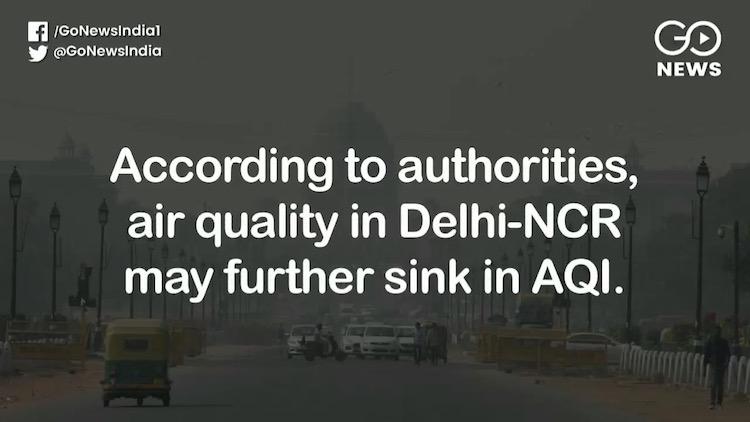 Air Quality Deteriorates In Delhi-NCR