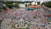 Massive Protests Rock Belarus, President Seen Carr