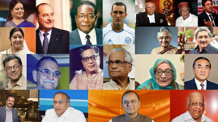 Looking Back At 2019: Famous Personalities Who Lef