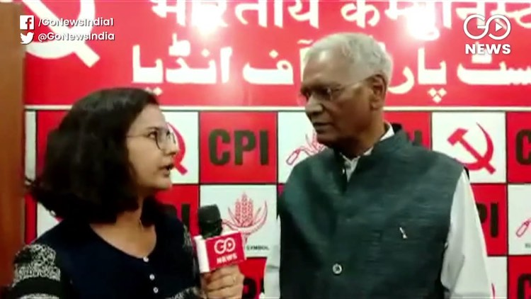 D Raja: BJP Using Governor's Office For It Own Pol