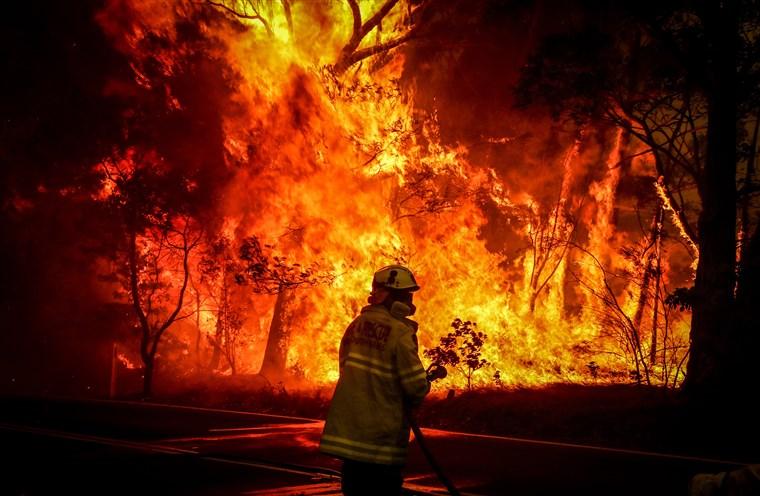 Australia Reels From Bushfires, NSW Declares Emerg