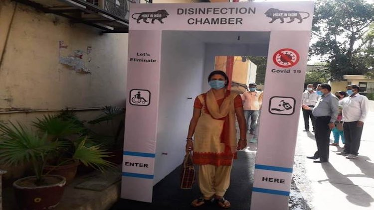 SC Asks Centre To Ban Disinfection Tunnels, UV Ray