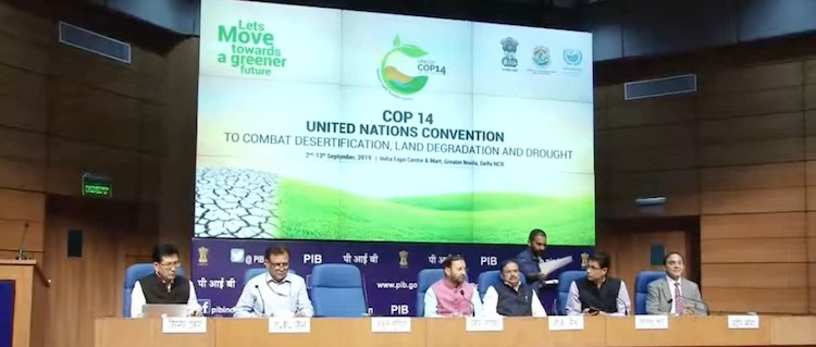 India To Host UN Convention To Tackle Desertificat