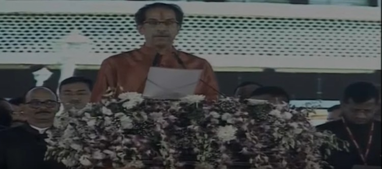 LIVE: Uddhav Thackeray Oath-Taking Ceremony