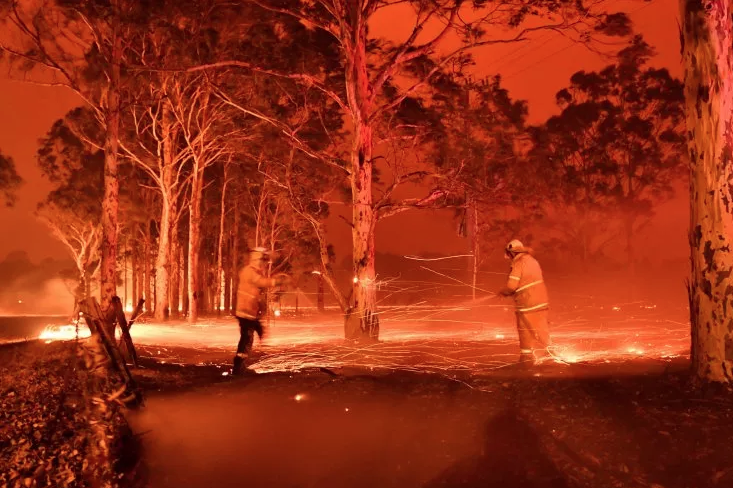 Bushfires Spread In Australia, PM Cancels India Vi