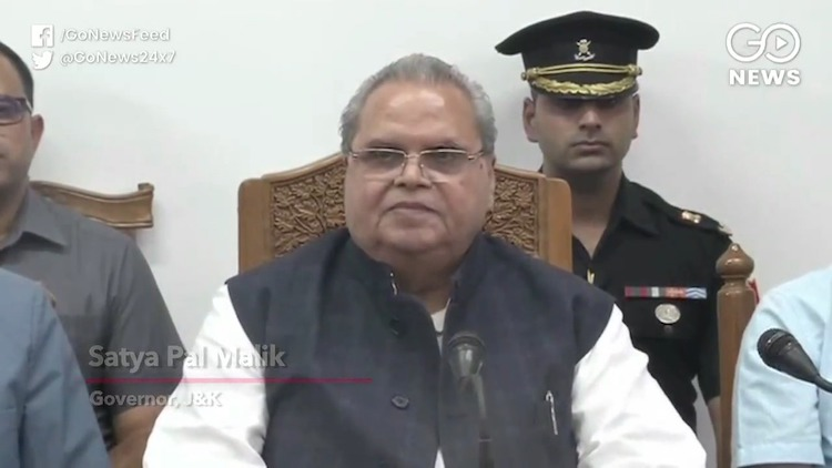 J&K Governor: Communications To Be Gradually Resto