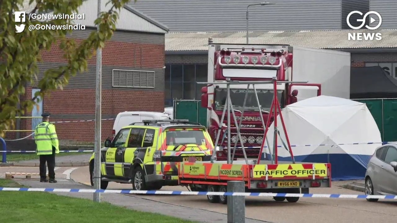 39 Bodies Found Inside Truck Container In UK