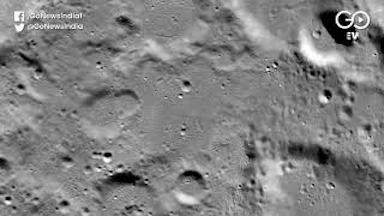NASA Claims Vikram Had Hard Landing On Moon's Surf