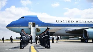 America's Flying Fortress Air Force One Will Head