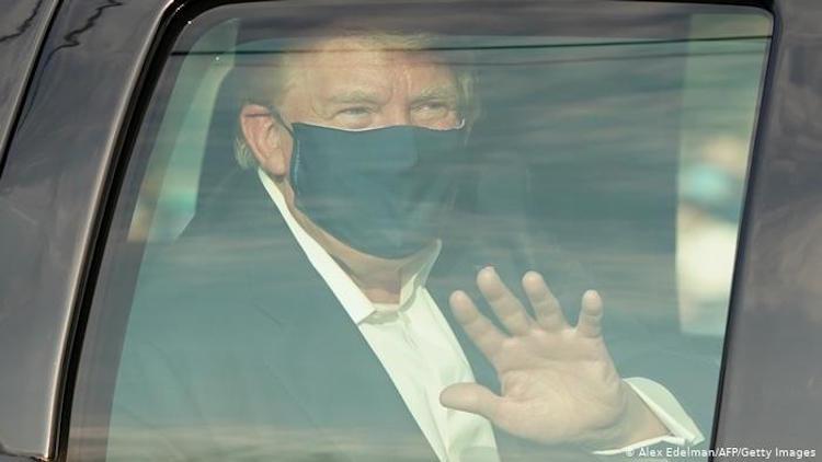 Trump Leaves Hospital Briefly Amid COVID treatment