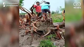 Storm Wreaks Havoc But Villagers Have No Hope Fro