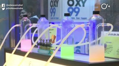 Delhi's First Oxygen Bar Finally Opens Amid Chokin