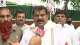 Congress Workers Protest Outside Party HQ, Demand