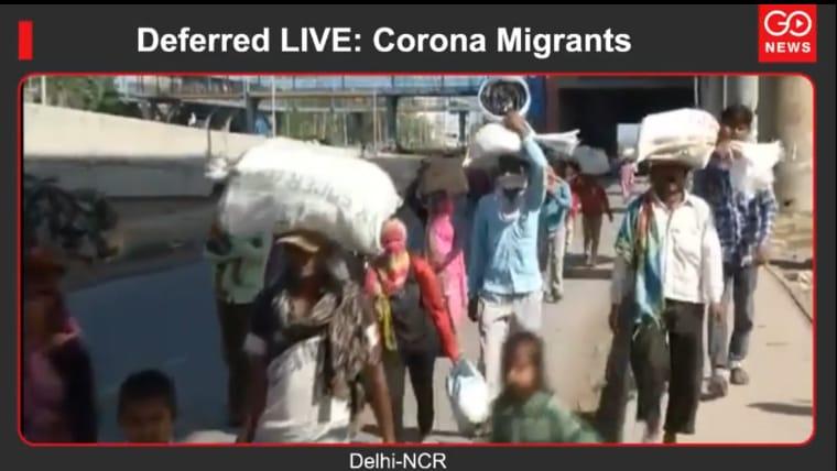 Deferred LIVE: Corona Migrants