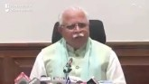 Haryana CM Manohar Lal Khattar Warns Pople To Avoi