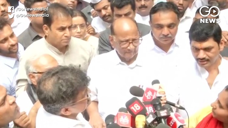 Congress Says ED Trying To Malign Pawar's Image Ah