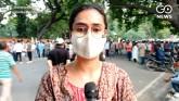 Activists Protest At Jantar Mantar Against UP Govt