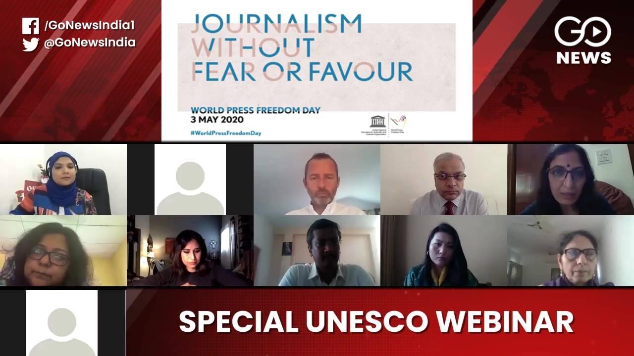 Press Freedom Day: Watch UNESCO-GoNews Webinar On