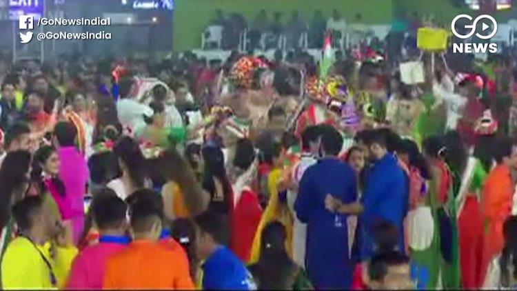 Garba Celebrations In Full Swing In Gujarat