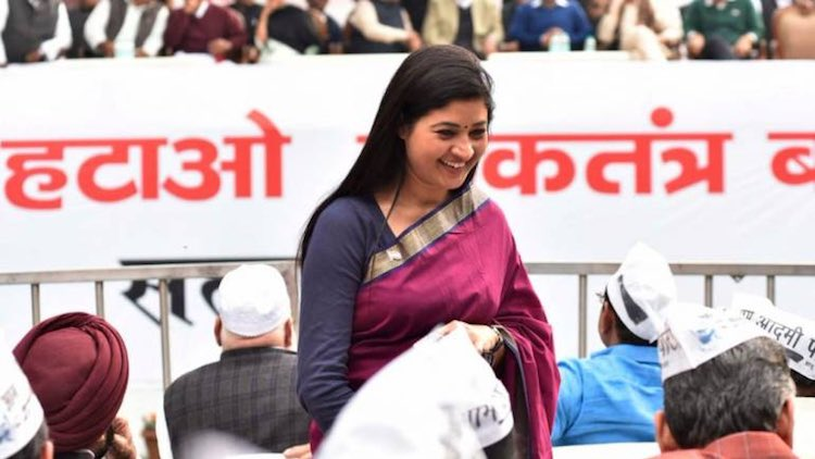 Alka Lamba Joins Congress