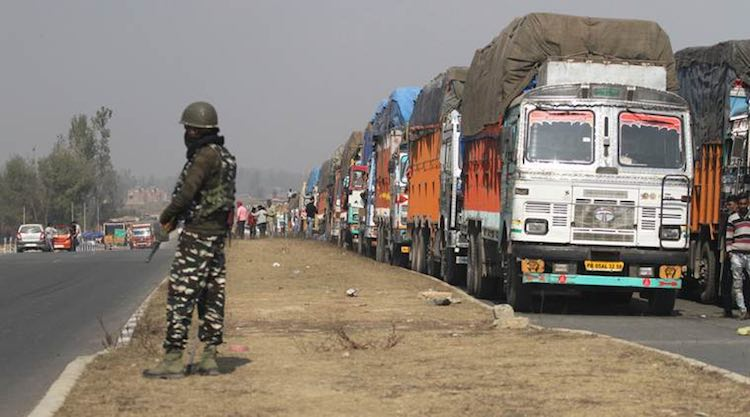 Another truck driver killed in Jammu and Kashmir