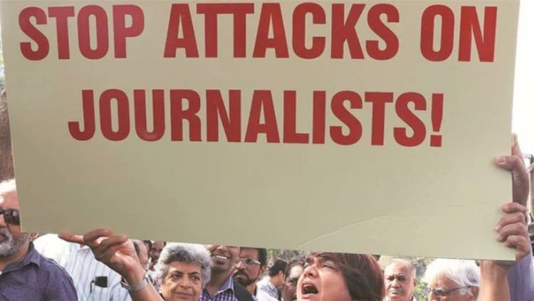 Attack on journalists