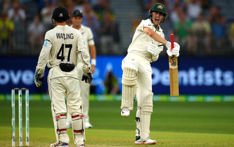 Australia Vs New Zealand First Test Perth