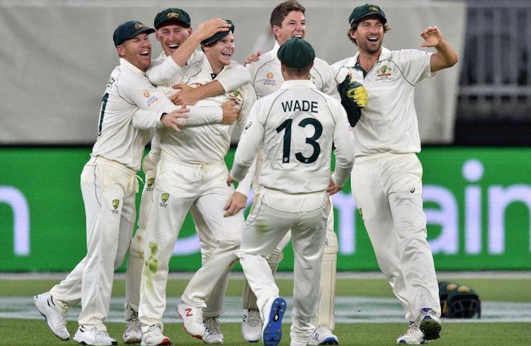 Australia vs New Zealand Perth Test