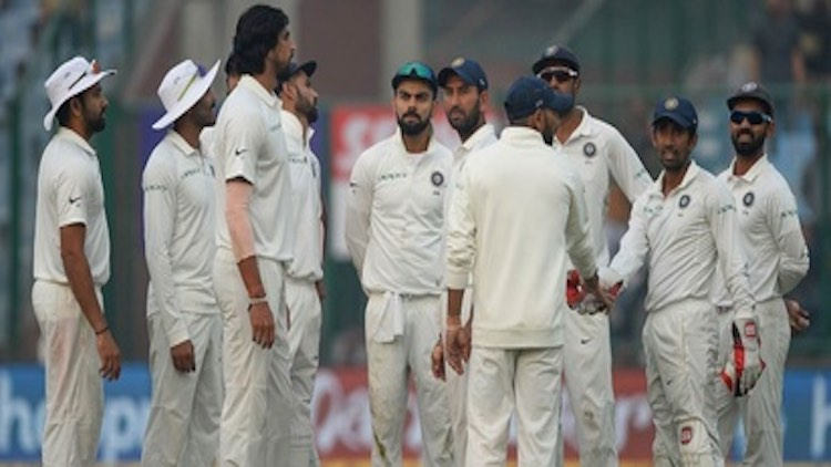 Wellington Test: India 122/5 Against New Zealand I
