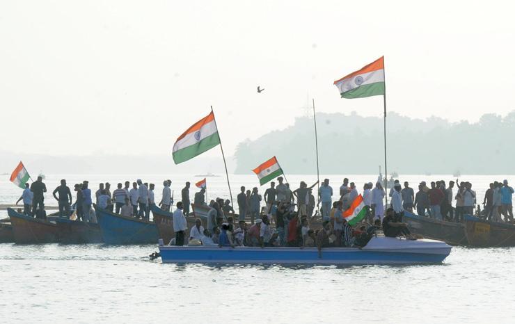 Anti-CAA Boat Protests Capture Public Imagination