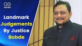 Landmark Judgements By Justice Bobde