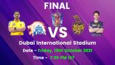 CSK vs KKR IPL 2021 Final