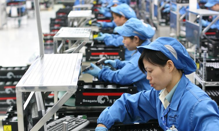 Pandemic Boost To China's Industry: GDP Growth Acc