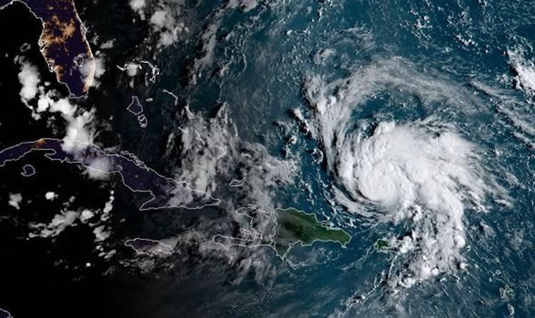 Hurricane Dorain Hurtles Towards Florida