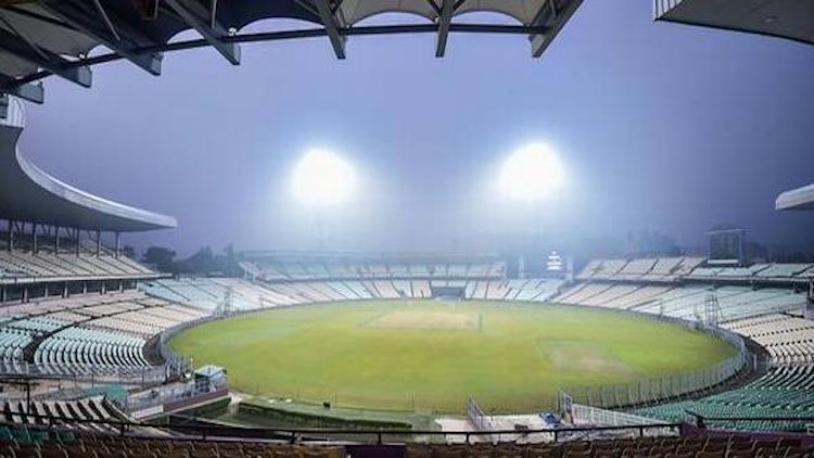 Eden Gardens Turns Pink For Day-Night IND Vs BAN T