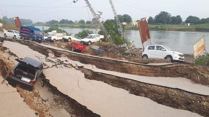 POK Earthquake photos